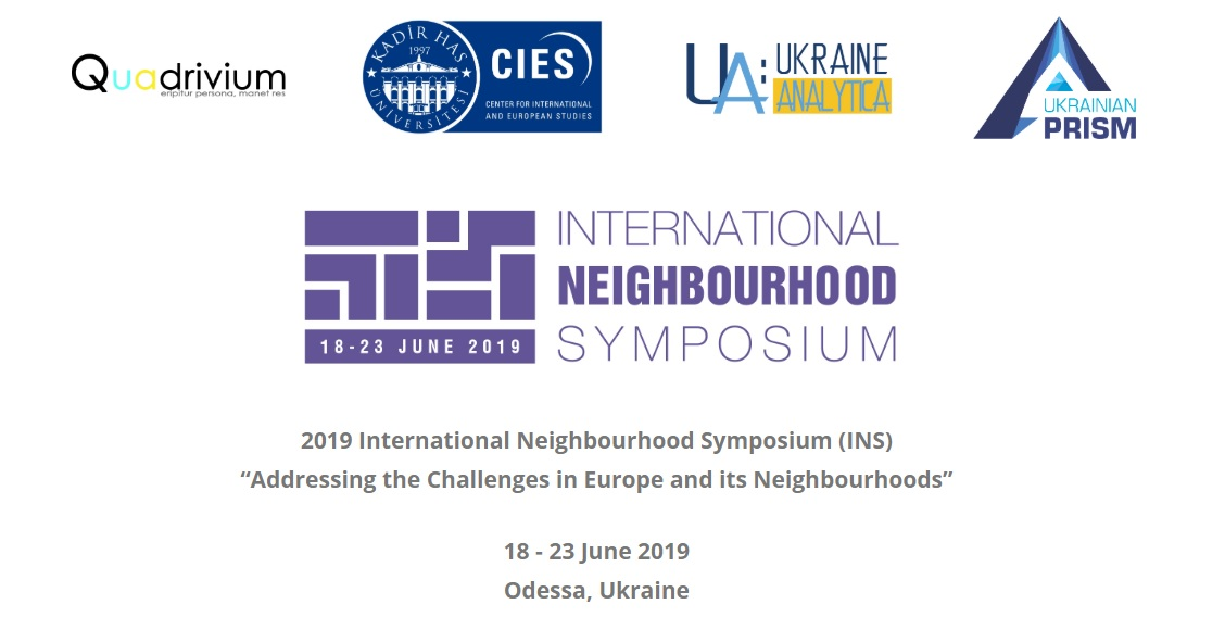 The 2019 edition of the International Neighbourhood Symposium, 18-23
